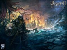 Da Bang The Most Exciting Game Poster Crusader Kings Ii The Old Gods Game Canvas Poster Print 24X36 Inch ** Want to know more, click on the image.Note:It is affiliate link to Amazon.