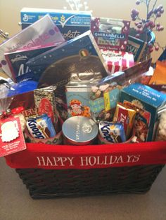 Holiday gift baskets ideas for christmas