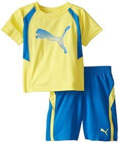 PUMA Baby Boys Swift Performance Set Buttercup Yellow 12 Months ** To view further for this item, visit the image link. (This is an affiliate link) #BabyBoyHoodiesandActive
