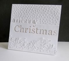 F4A354 ~ White Christmas by sistersandie - Cards and Paper Crafts at Splitcoaststampers
