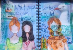 Doodle in journal Time Art, Alice, Doodles, Draw, Journal, Painting, To Draw, Painting Art, Sketches