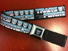 Transformers Seat Belt Belt