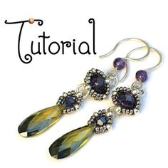 TUTORIAL Cutie Pie Earrings von gwenbeads auf Etsy