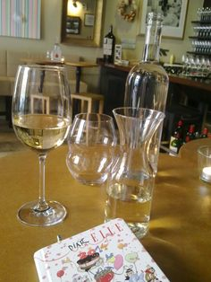 I just enjoy my free time with myself.. Wine bar Bokovka, Prague