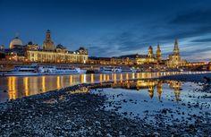 Dresden Elbside by Oliver Knist on 500px