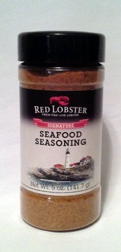 Red Lobster, Signature Seafood Seasoning, 5oz Bottle (Pack of 2)