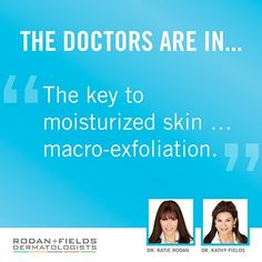 Did you know that by clearing away dead skin cells with the REDEFINE MACRO Exfoliator™, your moisturizers will be better able to do their job? Using the MACRO Exfoliator once a week gives your skin an extra helping hand as it clears the clutter, helping you to achieve a fresher and more moisturized complexion. #RodanandFields #RFMACROE
