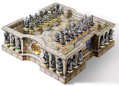 Inserts | Tabuleiro de Xadrez 3D - Senhor dos Anéis ~ #NerdsVsNerds | De Curitiba para o mundo.