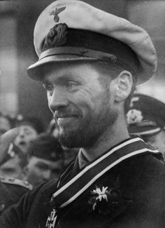 Korvettenkapitän Reinhard Hardegen is a German U-boat commander who sank 22 ships, amounting to 115,656 gross register tons sunk, making him the 24th most successful commander in World War II.