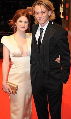 BATFAs 2010 Jamie Campbell Bower and Bonnie Wright