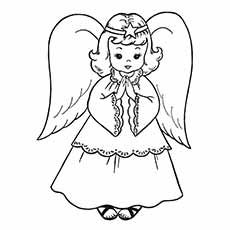 Free Printable Coloring Pages For Kids. - Free printable coloring pages for kids you can print out and coloring sheets Nativity Coloring Pages, Angel Coloring Pages, Christmas Coloring Sheets, Printable Christmas Coloring Pages, Free Christmas Printables, Coloring Pages To Print, Free Printable Coloring Pages, Coloring For Kids, Coloring Pages For Kids