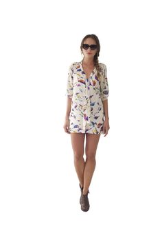 Fly like a bird with the limited edition printed blouse    www.wondaland.co.uk