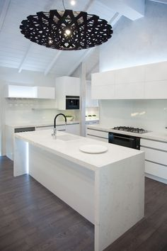 A kitchen close-up with top of the line fittings.