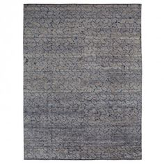 Contemporary Silk Rug - 9 x12