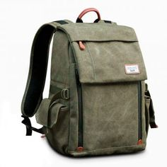697c37e9ce Camera Backpack Zecti Waterproof Canvas Professional Camera Bag for Laptop  and Other Digital Camera Accessories with Rain Cover-Green. bunsak · Top 10  Best ...