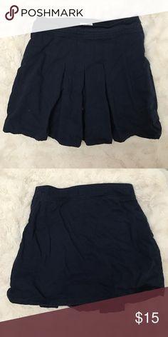 Navy tennis skirt Cute navy tennis skirt hardly worn really comfortable Children's Place Bottoms Skorts