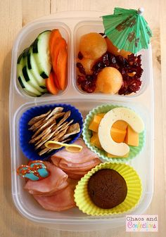 """""""C"""" You at the Beach! Beachy C food allergy safe lunch for the last day of preschool! Healthy School Snacks, Lunch Snacks, Kid Lunches, School Lunches, Easy Lunch Boxes, Lunch Ideas, Bento Ideas, Food Ideas, Beach Day Food"""