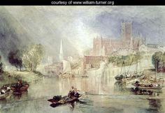 Worcester, c.1833 - Joseph Mallord William Turner - www.william-turner.org