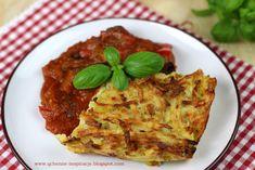 Img Lasagna, Quiche, Healthy Recipes, Healthy Food, Waffles, Good Food, Breakfast, Ethnic Recipes, Yum Yum