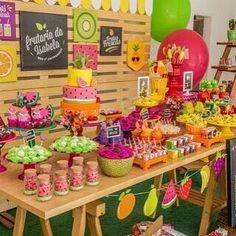 Watermelon Birthday Parties, Fruit Birthday, Second Birthday Ideas, Girls Birthday Party Themes, Girl 2nd Birthday, Flamingo Birthday, Fruit Party, Tutti Frutti, Teen Birthday Parties