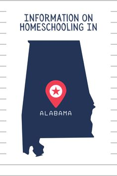 Get started homeschooling in #Alabama with this information. #homeschool #homeschoolinalabama