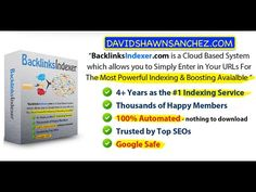 How to Use Backlinks Indexer & Rank Higher In Google and YouTube - http://www.highpa20s.com/link-building/how-to-use-backlinks-indexer-rank-higher-in-google-and-youtube/