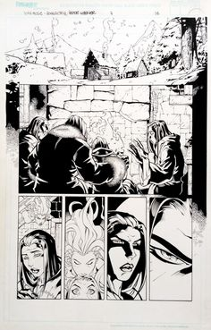 10th Muse #07, page 16 - Roger Cruz, in RogerCruz's 10th Muse #07 Comic…
