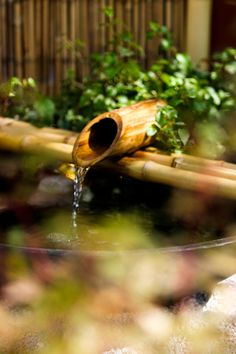 thinking my backyard will need a water feature, and i always love the way japanese water features sound