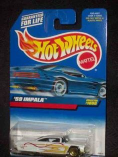 -#1000 1959 Impala Collectible Collector Car Mattel Hot Wheels 1:64 Scale by Mattel. $4.19. Perfect Hot Wheels Diecast for every collector!. Diecast Metal Hot Wheels Car Perfect For That Hot Wheels Collector!. Great Investment For Any Hot Wheels Collector.. A Perfect Addition To Any Hot Wheels Collection!. Fun For All Ages! Serious Collectors And Kids Alike!. -#1000 1959 Impala Collectible Collector Car Mattel Hot Wheels