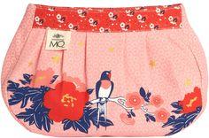 Madame MO - Pochettes plissées : Pochette plissée Hirondelle