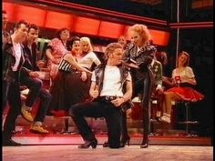 """Debbie Gibson as Sandy in the London production of """"Grease""""."""