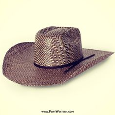 f8fe84d6a79 Rodeo King® Hereford 3-tone Brick Straw Hat Western Cowboy Hats
