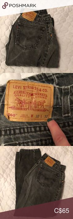 Levi's 560's Vintage however they don't fit a 30, they are true to size 32x32 with a light fade. Selling because they are too big on my waist There is a little hole on the front left side where the pocket is and distressed back pocket Distressed bottom hem Little tiny stain as pictures and very small hole on the left back leg as pictured Make an offer Levi's Jeans Straight Leg Plus Fashion, Fashion Tips, Fashion Trends, Pocket, Legs, How To Make, Pictures, Outfits, Vintage