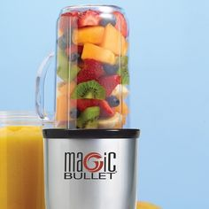 Magic bullet for smoothies and juices!!