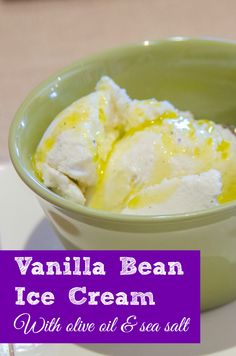The perfect vanilla bean ice cream recipe -- serve drizzled with a top ...