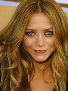 Light Golden Brown Hair Color with highlights