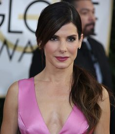 Sandra Bullock at the 71st Annual Golden Globes at The Beverly Hilton hotel in Beverly Hills on January 12, 2014