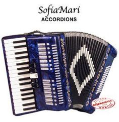 SOFIAMARI PIANO ACCORDION 34 KEYS 48 BASS MEXICAN FLAG ** Find out more about the great product at the image link.