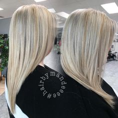 I foiled her whole head in 45 minutes and she's beautiful! #redkencolor #flashlift #blondeidol #basebreaker #hairsalon #cilantrohairspa #hairbymandeeee #behindthechair #modernsalon #blondehair #platinumhair #mishawakastylist #hashtag #blondehair