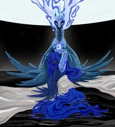 Elysian Enmity by *DarkMarwari on deviantART - Princess Luna, Nightmare Moon, My Little Pony, Friendship is Magic
