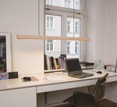 Luminaire de bureau cuir, Cohiba,  Benjamin Hopf Formagenda