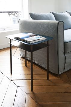 Table d'appoint Kara - Sarah Lavoine Bleu Sarah - Jaune - Radis Noir Decor, Furniture, Appartment, Side Table, Deco, Table, Home Decor, Coffee Table