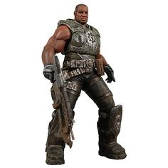 Gears of War Series 1 Augustus Cole Action Figure