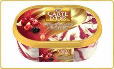 Carte d'Or Chocolate Branco & Frutos Vermelhos