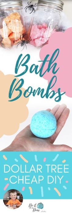 In this episode of Cooking with Carson we are showing you how to make DIY Dollar Tree Bath Bombs! These are similar to the expensive bath bombs you can find at Lush, but Carson makes them… tree hygiene products Cheap Bath Bombs, Diy For Kids, Crafts For Kids, Adult Crafts, Baby Crafts, Summer Crafts, Preschool Crafts, Summer Fun, Lush