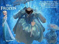 Vestido barato frozen ice