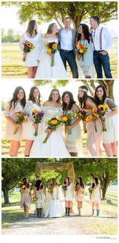 DIY WEDDING, #DIY, Farm, barn, rustic, wedding, bridesmaids, farm wedding, wedding ideas, mismatch bridesmaids, lace bridesmaid dresses, summer, fall, september, vintage, elizabeth henson photos, Virginia Beach, Back Bay Farms, #FARMWEDDING