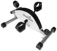 DeskCycle Desk Exercise Bike Pedal Exerciser - Products That Help You Exercise at Your Desk