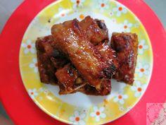 Air-fried Honey Pork Ribs (chinese style)
