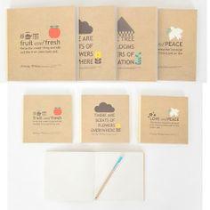 Vintage-Note-book-Craft-unlined-undated-Diary-Retro-Antique-Korea-Journal-Agenda